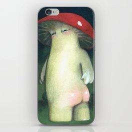 Toadstool Tushie iPhone Skin