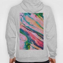 Bright and happy marble design Hoody