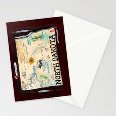 NORTH DAKOTA Stationery Cards