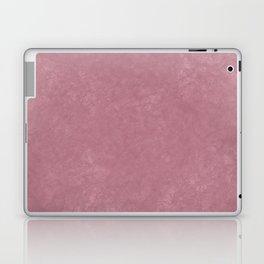 Pink textured background Laptop & iPad Skin