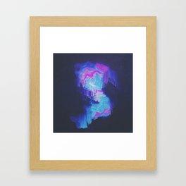 DAY 60: SHITTY CHRYSTAL SHIT Framed Art Print
