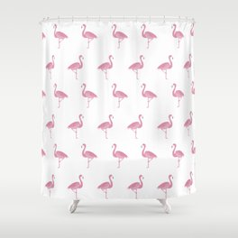 Flamingo Pattern Shower Curtain