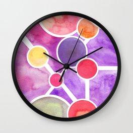Atomic Planetary Wall Clock