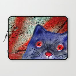 Gordon The Graffiti Cat Laptop Sleeve