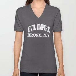 Yankees EMPIRE Bronx Boston Red Rivalry softball Unisex V-Neck