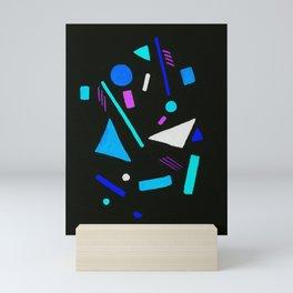 Funky Neon Mini Art Print