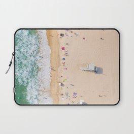 Beach Aerial Laptop Sleeve