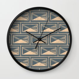 Minimalist Prague Wall Clock
