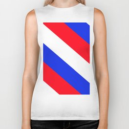 Red, White and Blue - 2 Biker Tank