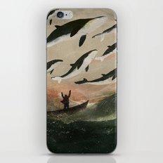 Minke Whale Migration iPhone Skin