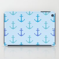 anchors iPad Cases featuring Anchors by wensays