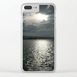 Sundown in Samoa DPG150309 Clear iPhone Case