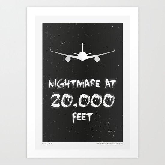 """The Twilight Zone"" Nightmare at 20,000 Feet by artmansheff"