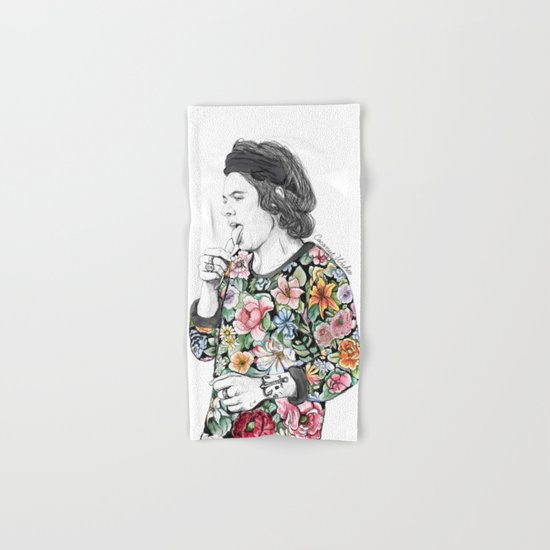Harry  sketch  Hand & Bath Towel
