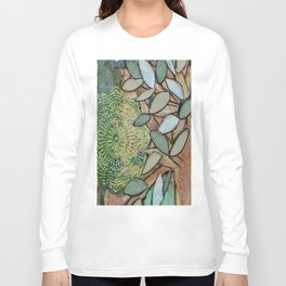 Mixed Media Long Sleeve T-shirt