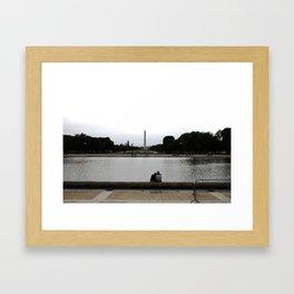 Watching Washington Framed Art Print