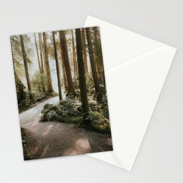 Lost in the Forest - Landscape Photography Stationery Cards