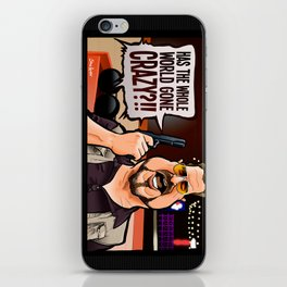 Over the Line! iPhone Skin