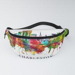 Charleston South Carolina Skyline Fanny Pack