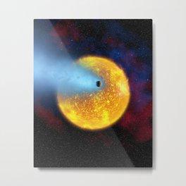 571. Evaporating Planet Metal Print