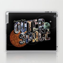 Greetings From Outer Space (color 01) Laptop & iPad Skin