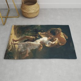 The Storm by Pierre-Auguste Cot 1880, French Rug
