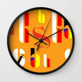 Bauhaus design decor Wall Clock
