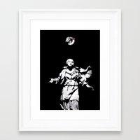 guns Framed Art Prints featuring Holy Guns by MRCRMB