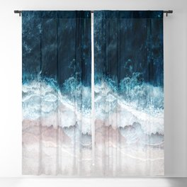 Blue Sea II Blackout Curtain