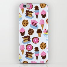 Dessert Pattern iPhone Skin