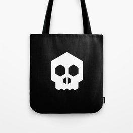 hex geometric halloween skull Tote Bag
