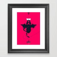 STEALTH:SR-71 Blackbird Framed Art Print
