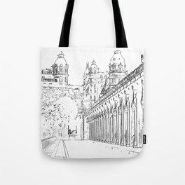 Pont de Bir-Hakeim - Paris, France Tote Bag
