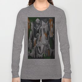 My Picasso Serie:Guernica Long Sleeve T-shirt