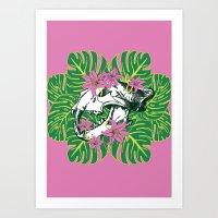 Deathvslife3 Art Print