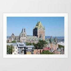Quebec City Art Print