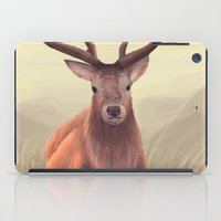 elk iPad Cases featuring ELK by Juliana Vidal