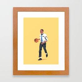 Balling Barack Framed Art Print