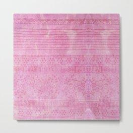 Romantic pink painting Metal Print