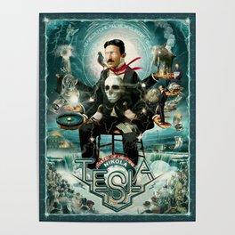 Nikola Tesla Master of Lightning Poster