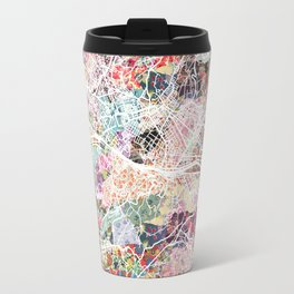 Florence map Travel Mug