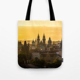 Prague Dawn Tote Bag