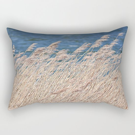 ears with wind Rectangular Pillow