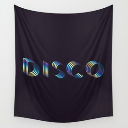 DISCO #society6artprint #decor #disco Wall Tapestry