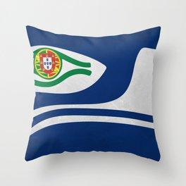 Portuguese Hawks culture Throw Pillow