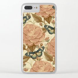 Vintage Garden 40 Clear iPhone Case