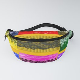 LACE COLLAGE Fanny Pack