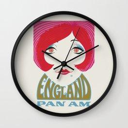 Remember Panam Wall Clock
