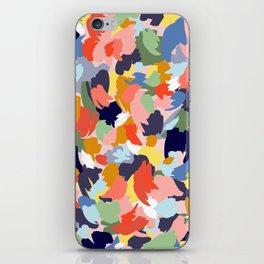 Bright Paint Blobs iPhone Skin