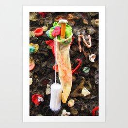 Bubblegum Alley I Art Print